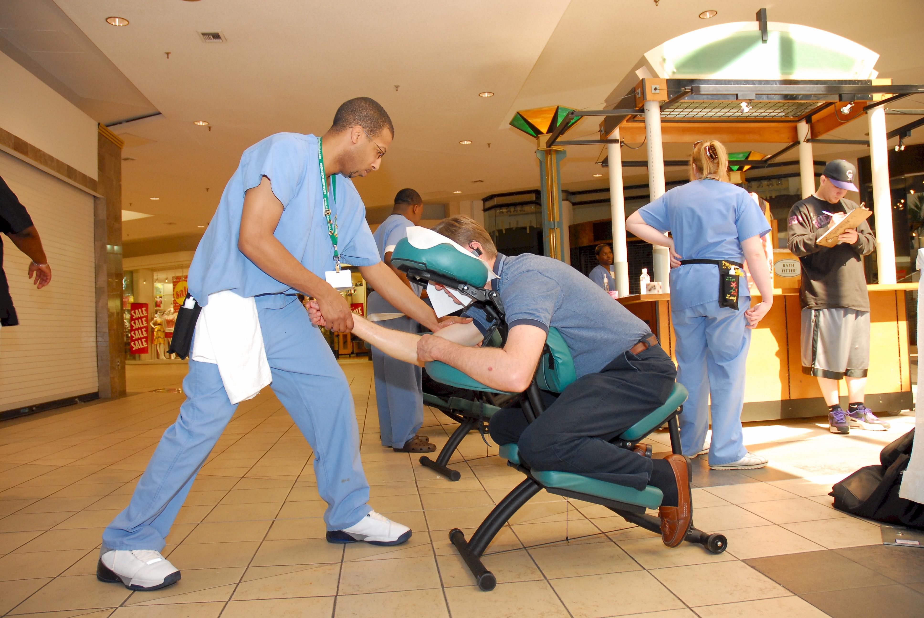 Got chair massage event chair massage for Chair massage